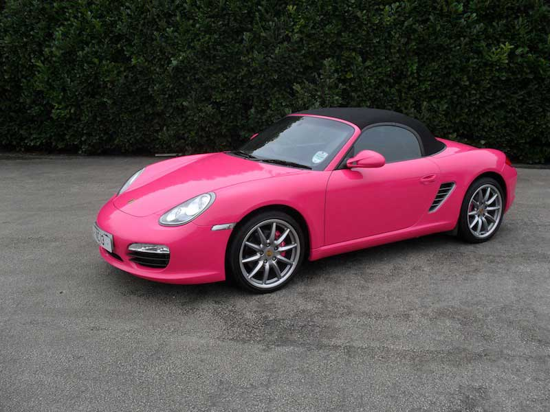 pink-porsche